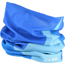 Cube Race Functional Neckwear blue'n'white